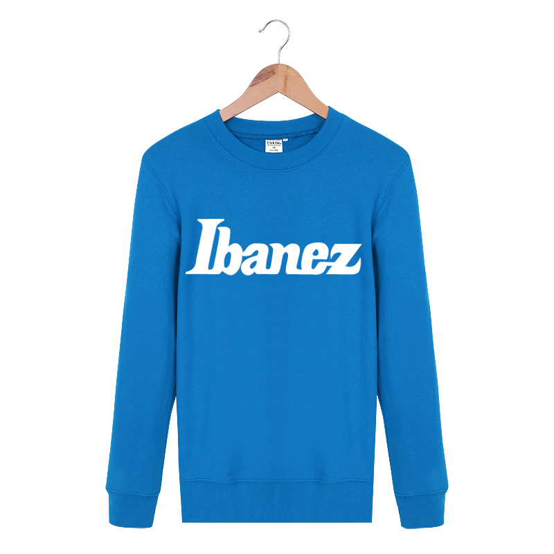 Original men cheap high quality ibanez musical brand rock band T shirts long sleeve Style Casual 5colors Asia size(China (Mainland))
