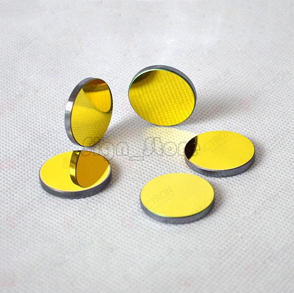 3 pcs/lot Co2 Laser SI Reflective Mirrors Dia 25mm Laser Engraving and Cutting Machine(China (Mainland))