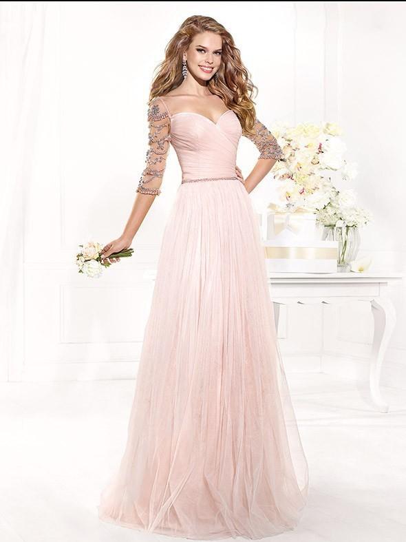 Вечернее платье Evening dress 2015 a/line  smt106