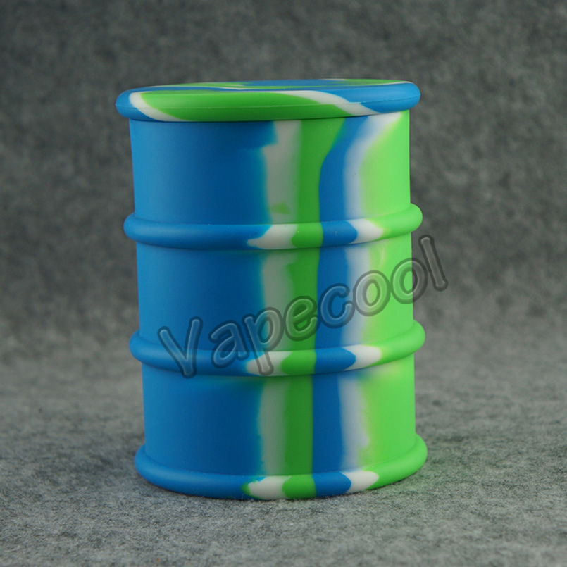 2016 the largest 500ml silicone drum barrel oil/concentrate/wax/hash container and jars for wax/oil/hash recipiente de silicona(China (Mainland))