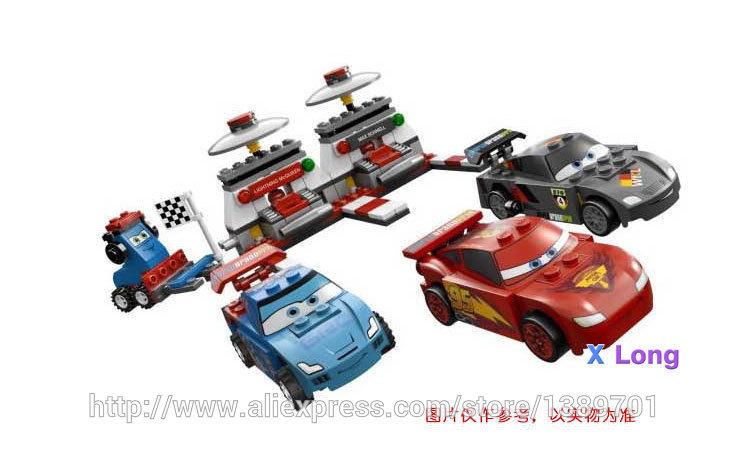 2015 Kids Building Blocks Toys 1pcs/lot Building Blocks Cars 2 Assembled Sets Minifigure Bricks Free Shopping(China (Mainland))