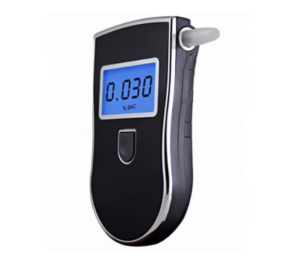 Alcohol Tester Professional Digital Portable Breathalyzer with Semi-conductor Sensor and LCD Display(China (Mainland))