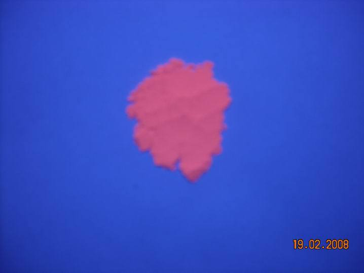 200gram Red colour Short wave UV fluorescent pigment, Inorganic type, ultraviolet flourescent powder, security invisible pigment(China (Mainland))