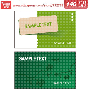 0146-08 business card template for printers service print your own business cards free business printing(China (Mainland))