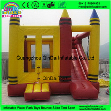 Cheap inflatable bouncers for adults / guangzhou jumping castles with prices inflatable slide(China (Mainland))