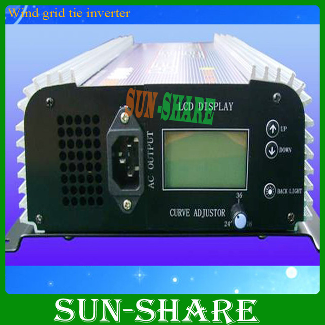 free shipping! 500w  CE approved , 500W Pure Sine Wave Solar On Grid Power Inverter,Low power consumption with LCD Display