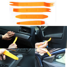 New 2015 4PCS CAR AUDIO DOOR CLIP PANEL TRIM DASH AUTO RADIO REMOVAL PRY TOOL SET
