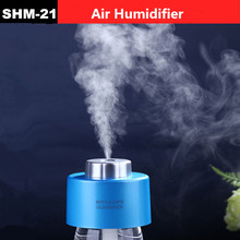 New Portable USB Water Bottle Caps Humidifier air Humidifier Mist Steam Maker cap air humidifier(China (Mainland))
