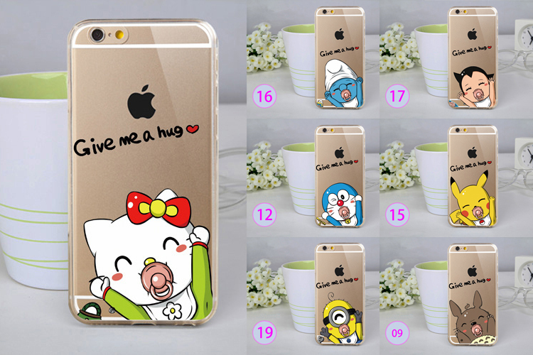 20 Styles Minions Case For Funda iPhone 4 Case Hello Kitty Carcasa Hard Plastic Cute Coque For Capa Para iPhone 4s(China (Mainland))