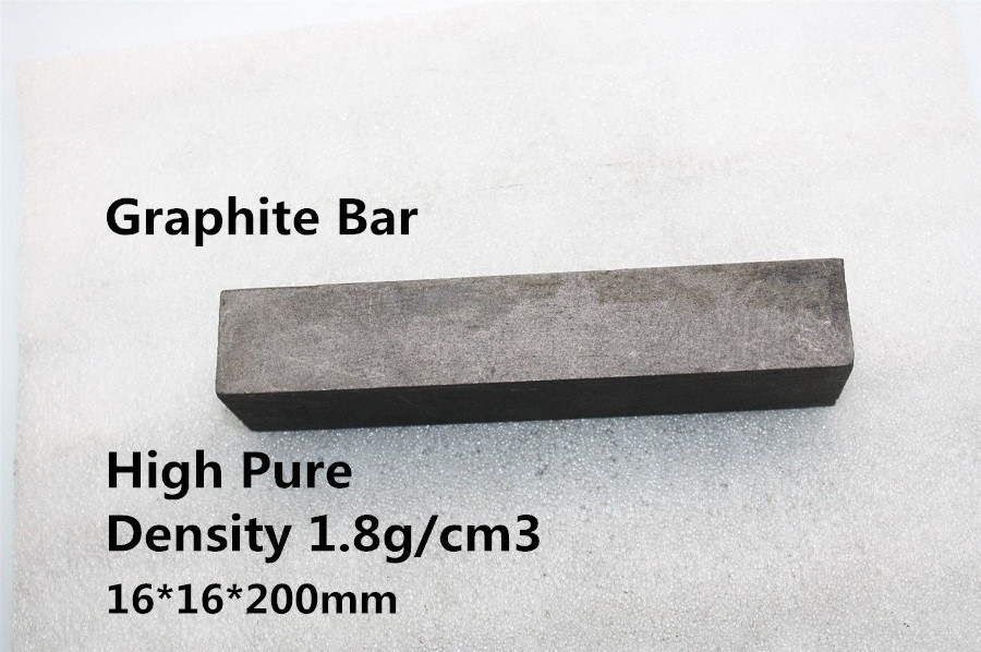 FREE SHIPPING    2Pcs     Carbon Graphite Square Bar Stock    CGSBS1616200<br><br>Aliexpress
