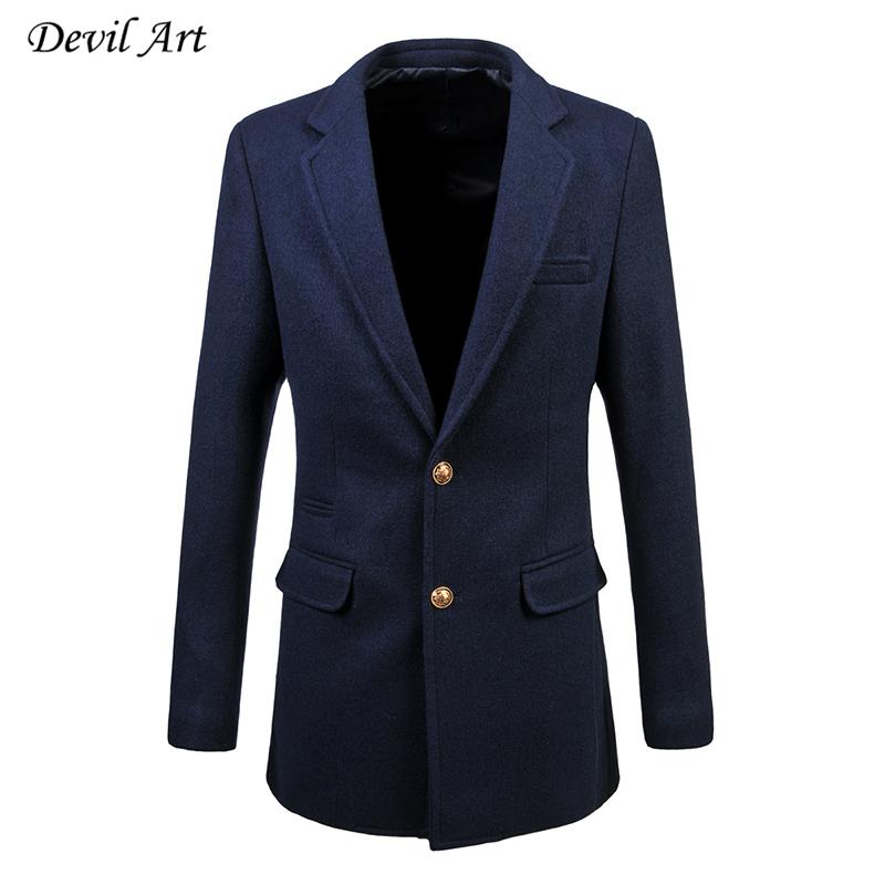 Brand Clothing Men Dress Blazer Wedding Dress Suit Jacket Thick Long Blazer Slim Veste Homme Mariage Free Shipping Size:6XL A61