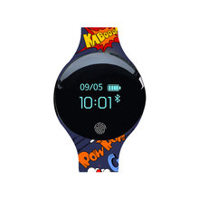 HATOSTEPED Смарт-часы спортивный рекордер браслет шагомер с функцией Bluetooth женский будильник для IOS Android розовый синий черный(China)