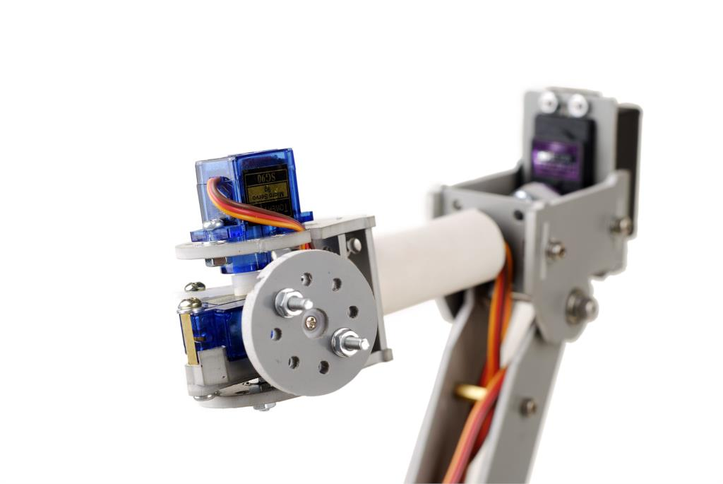 Buy Six Axis Motor Servo Cnc Robotic Arm