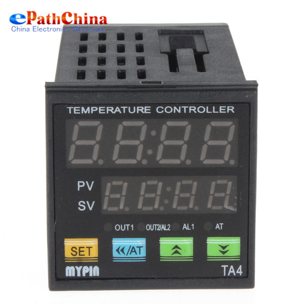 New Arrival Universal Digital PID Temperature Controller Regulator Thermostat Thermometer Thermocouple Sensor SSR (1 Alarm)(China (Mainland))