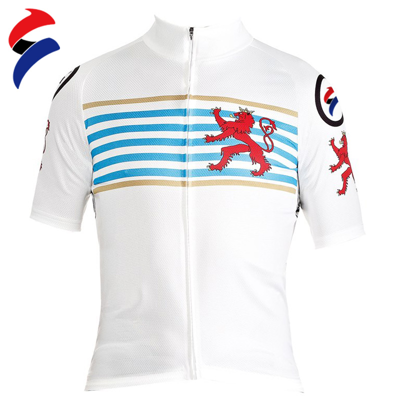 Go-Getit Sport Summer Netherlands National Cycling Jersey The Full Length zip Jersey Short Sleeves Cycling Jersey(China (Mainland))