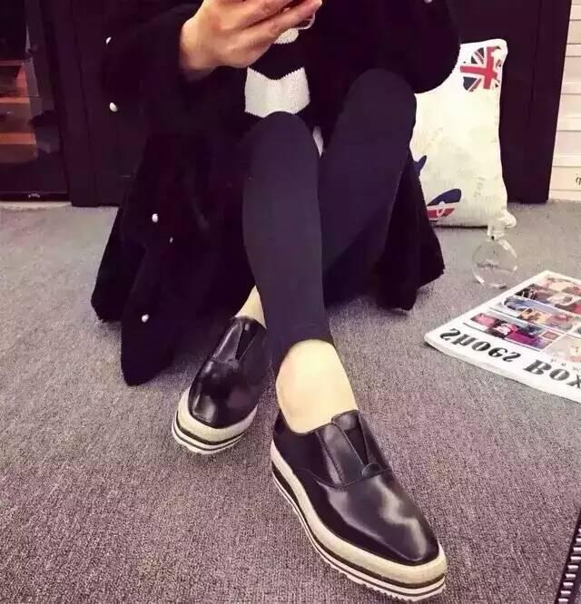 2016 Spring/Summer Flat Platform Loafers Hemp Rope Round Toe Genuine Leather Women Flats Luxury Designer Brand Comfortable Shoes<br><br>Aliexpress