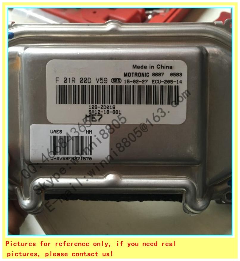 For Haima car engine computer board/ECU/ Electronic Control Unit/Car PC/ F01R00DV59 SA12-18-881 /Trip computer(China (Mainland))