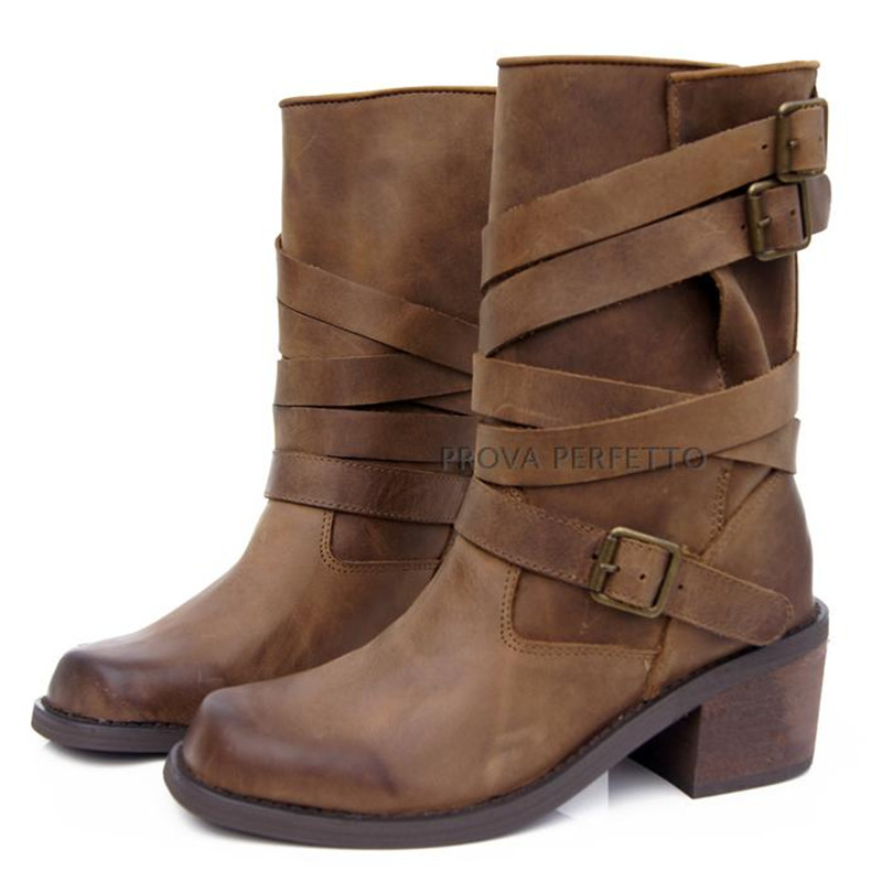 Compare Prices on Womens Brown Leather Combat Boots- Online ...