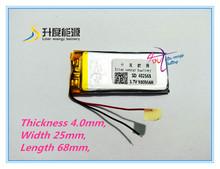 Buy Polymer battery/ deep cycle 3.7 v 900mah li polymer battery 402568 li polymer battery for $5.46 in AliExpress store