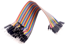 40pcs dupont cable jumper wire dupont line Male to Male dupont line 20cm 1P 40P free shipping