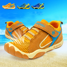 Hot Sale 2016 Summer Mesh Children sneakers cowhide leather child casual shoes fashion sport shoes boys girls running shoes TX95(China (Mainland))