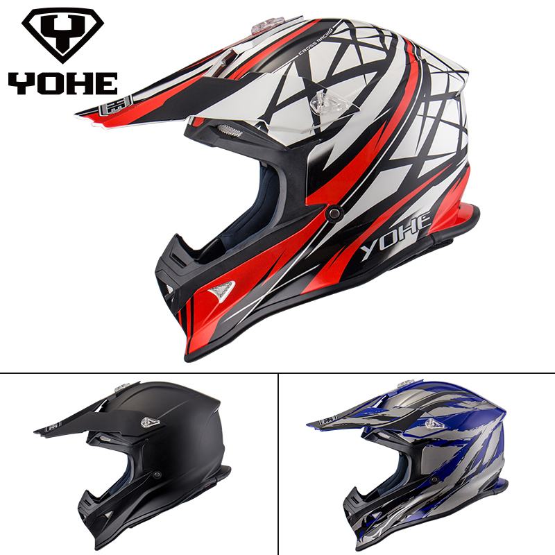 YOHE Helmet Motorcycle Helmet Chin Vent Removable System Ece Abs Unisex Moto Helmet Motorbike Safety Racing Off road Helmet 631(China (Mainland))