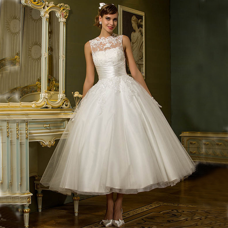 Sexy short wedding dresses 2016 new beach summer spring for Cheap wedding dresses tea length