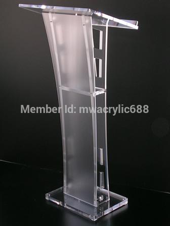 Здесь можно купить  Free Shipping Beautiful Easy Cheap Detachable Acrylic Podium Pulpit Lectern podium Free Shipping Beautiful Easy Cheap Detachable Acrylic Podium Pulpit Lectern podium Мебель