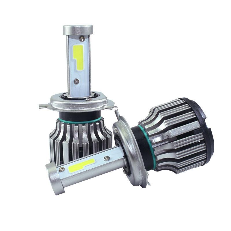 2x CREE COB Car Styling Cars Headlight LED H4 H1 H7 H11 9005 9006 880 60W/Set 8000LM/Set WHITE 6000K HI/LO DRL Fog Lamp(China (Mainland))