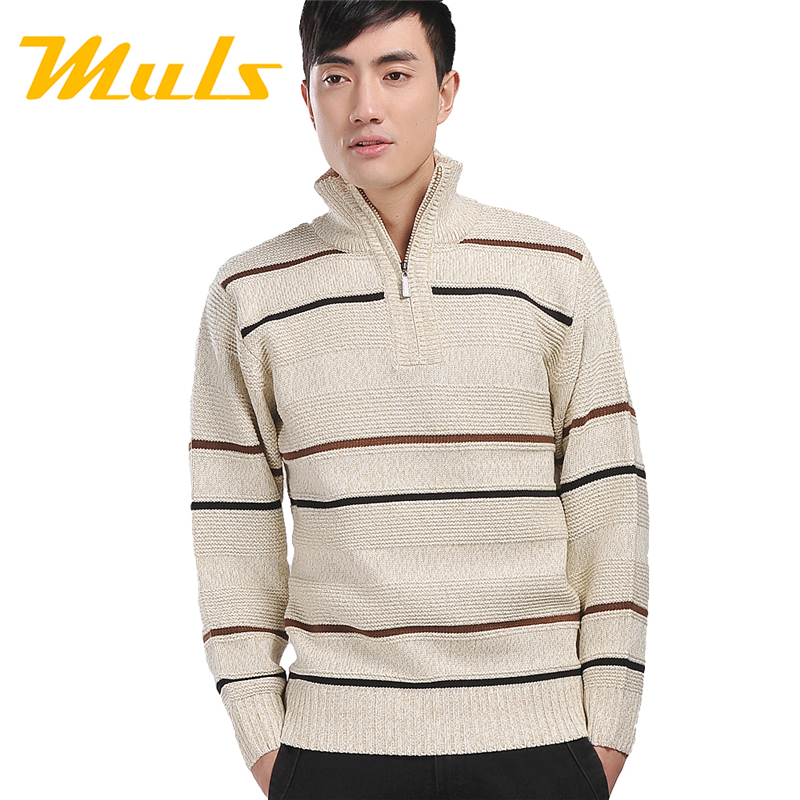 agasalho masculino men's sweater erkek giyim Fashion Zippers Turtleneck Acrylic Free package mail(China (Mainland))