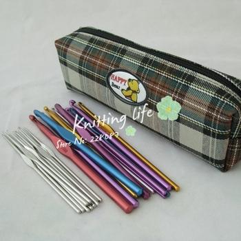 Free Shipping  24Pcs/set  Metal Crochet Kit  , Crochet Hooks Needles Set , Knitting Tools