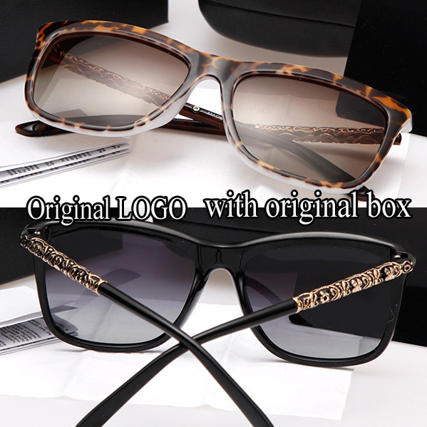 Hot sale high brand new fashion women star style polarized colorful sunglasses big square frame goggles outdoor driving sunglas(China (Mainland))