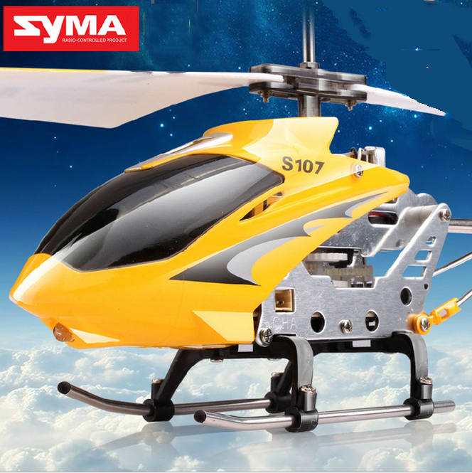 Syma S107g 3.5 Channel Mini Indoor Co-Axial Metal RC Helicopter Built in Gyroscope RC Helicopter eletrico Radio Control toys(China (Mainland))