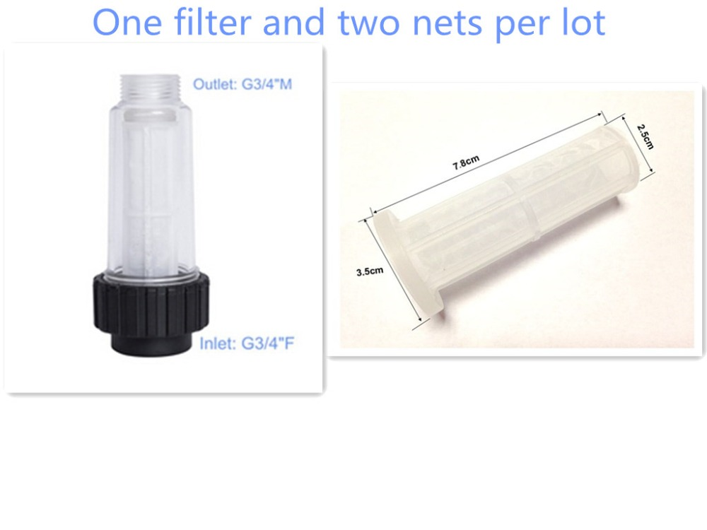Inlet water filters karcher filter with two cartrige(China (Mainland))