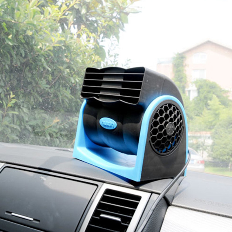 12v mini portable rotating cigarette lighter plug vehicle - Clim portable pour voiture ...