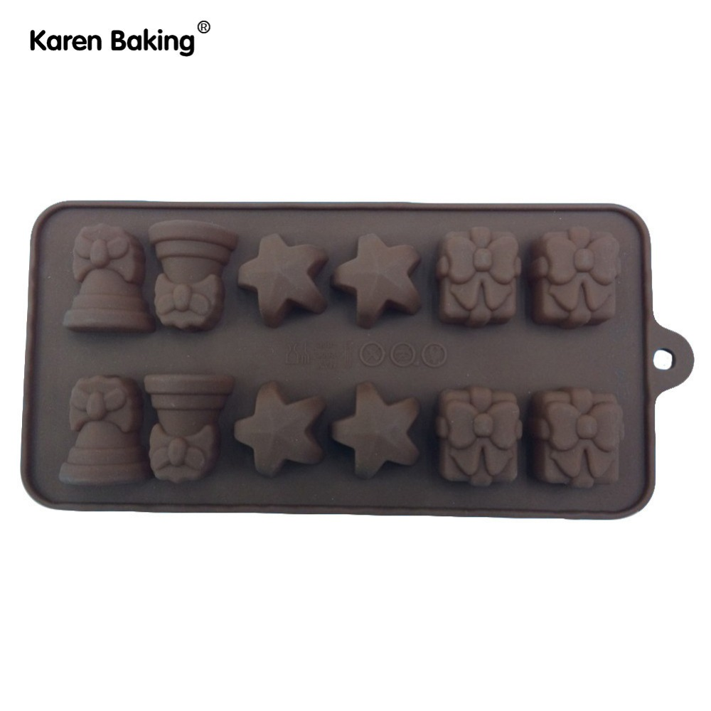 Silicone Five Star and Butterfly Shape Cake Chocolate Mold Jelly Mold Cake Moulds Bakeware---B199(China (Mainland))