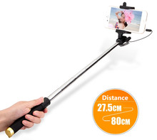 Mini Selfie Stick Monopod for iPhone Samsung Android iOS Wired Palo Selfie Camera