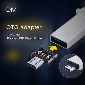 DM OTG adapter OTG function Turn into Phone USB Flash Drive Mobile Phone Adapters Free shippping