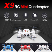 LH-X9 Professional Micro Pocket Drone 4CH 6Axis Gyro Mini Drone Quadcopter Blue Red White Mini Helicopter Control Remote Toys