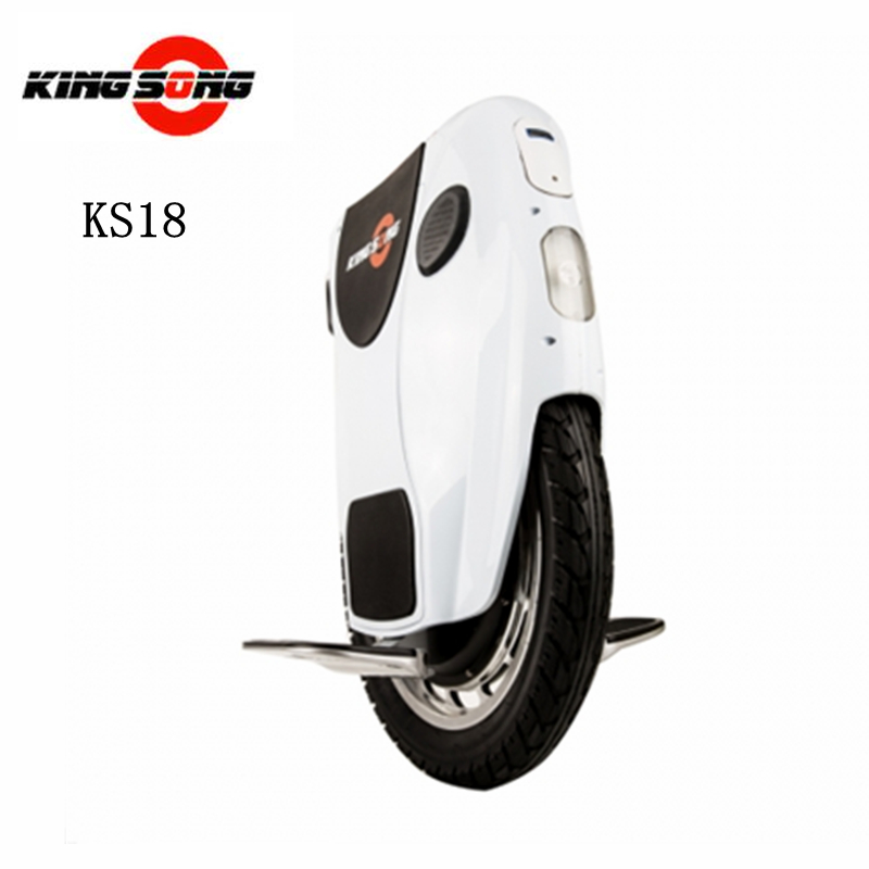 Original Kingsong KS18 One Wheel Smart Electric Self Balance Scooter 1200w motor 680/1360wh lithium-ion battery with Bluetooth(China (Mainland))