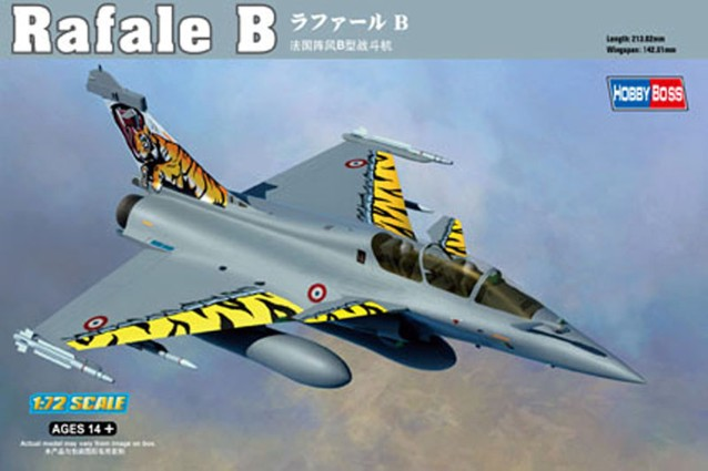hobby toys 3D Static aircraft model 1/72 French Rafale B Air Force assembling fighter plastic model kit best gift(China (Mainland))