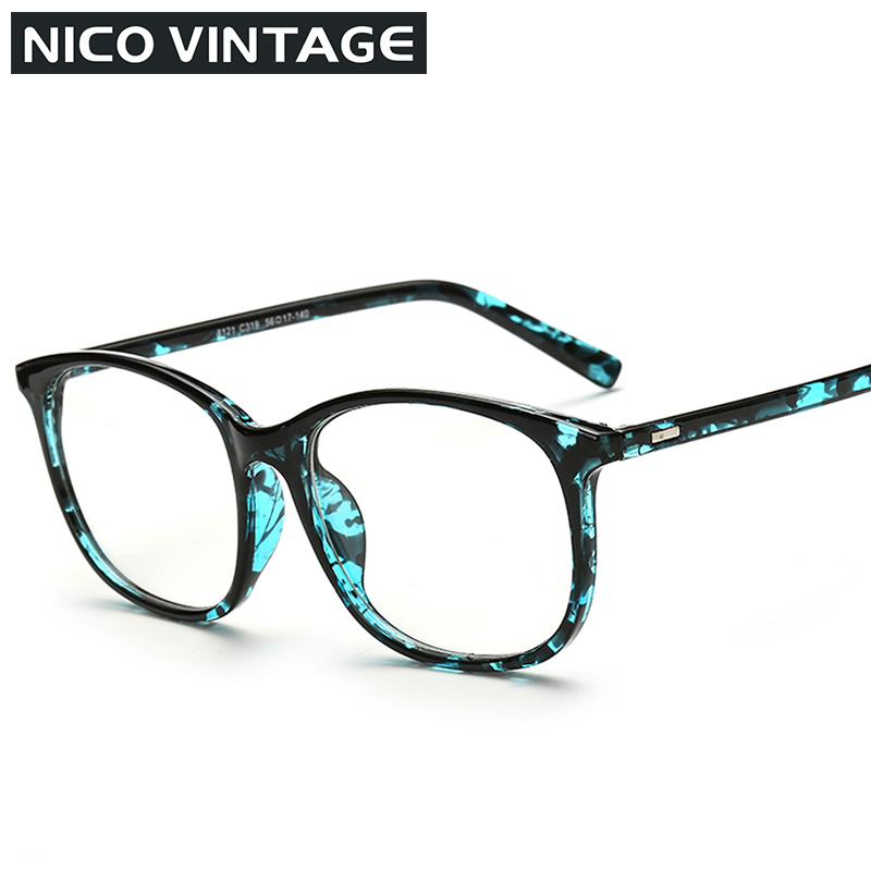 Aliexpress.com : Buy Matte Black Women Eyeglasses Unisex ...