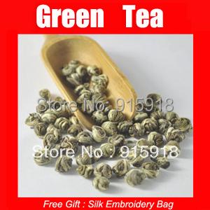 150g 100 Jasmine dragon pearls tea jasmine dragon balls jasmine tea free shipping