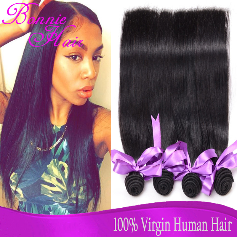 Cheap Peruvian Virgin Hair Straight Hair Extension Human Hair Weave Straight 4 Bundles Peruvian Virgin Straight 8-30 Ali Queen(China (Mainland))