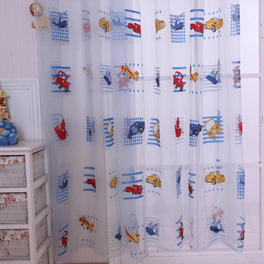 Hoge kwaliteit window curtains for kids room koop goedkope window ...