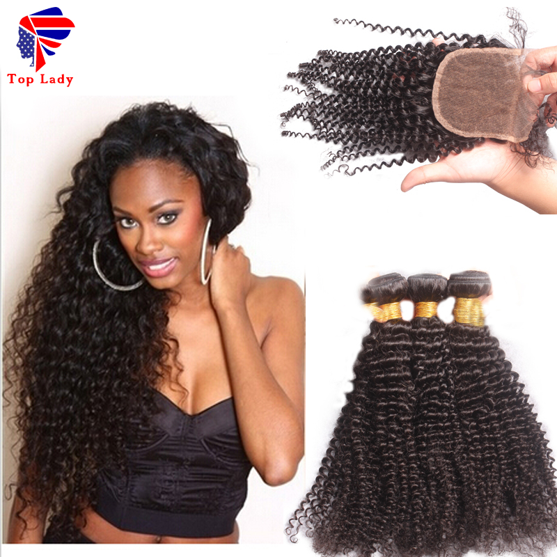 Cheap Unprocessed Brazilian Deep Curly Virgin Hair With Closure,Deep Curly Brazilain Virgin Hair With Lace Closure Free Shipping<br><br>Aliexpress