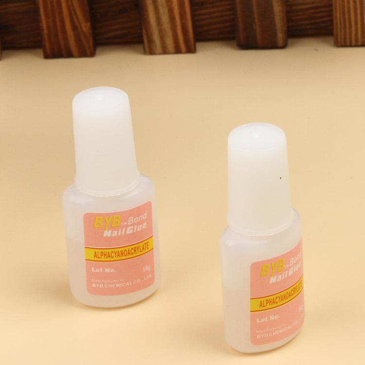 Fashion Nail Glue Nail Tools Tips Glitter Uv Acrylic Rhinestones Decoration With Brush NA-0077(China (Mainland))