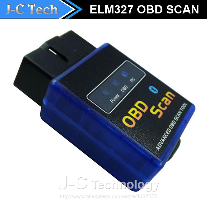 Оборудование для диагностики авто и мото OBDII ELM327 BT 327 Bluetooth Vgate Android Symbian