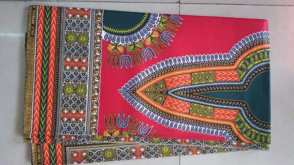 African  popular plain cotton super wax batik  prints fabric  hollandais  for clothing  Nigeria dress men's dashiki