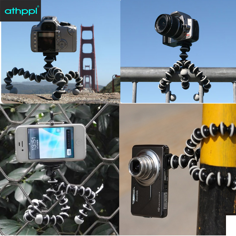 Athppl camera tripod Load-Bearing to 5KG Gorillapod Monopod Flexible Tripod Leg Mini Tripods for Digital Camera Holder Phone(China (Mainland))
